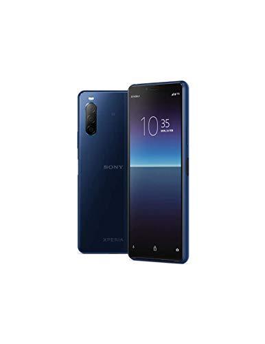 Sony Xperia 10 II (XQ-AU52) 4GB/128GB / Dual SIM/SIMフリー (Blue/ブルー)