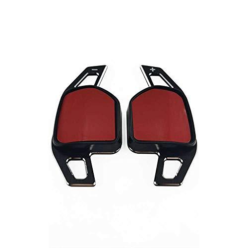 HJPOQZ Paletas de Cambio de Volante de Coche, para AudiA3 8P 8V A4 B8 A5 A6 C7 A7 A8 Q3 Q5 Q7 S3 S5 S6 S7 SQ5 TT DSG