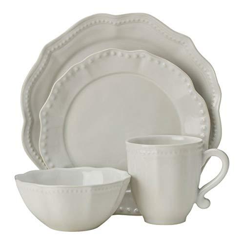 Mikasa Alyse 16-Piece Dinnerware Set, White