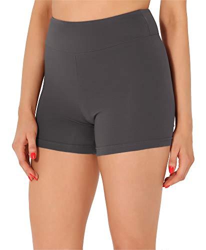 Merry Style Pantalones Cortos Mujer MS10-359 (Gris, M)