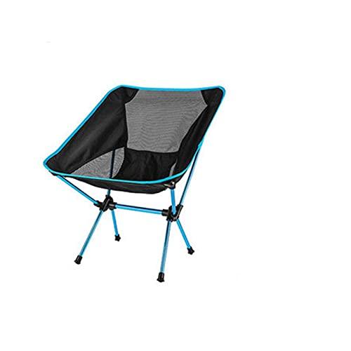 Xsqq Silla portátil de la silla portátil desmontable ultraligero Silla plegable Extensión de la extensión de la oficina de la oficina de la pesca del hogar Camping del jardín de la barbacoa Senderismo