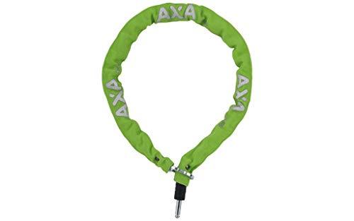 Axa Unisex– Erwachsene RLC 100 FahrradSchloss, grün, One-Size