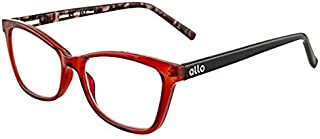 Allo brand Aloha reading glasses for men and women-1.5,2,2.5,3.0 magnification power options-premium designer quality - anti glare coating-colorful fashionable stylish fun-lightweight and clear
