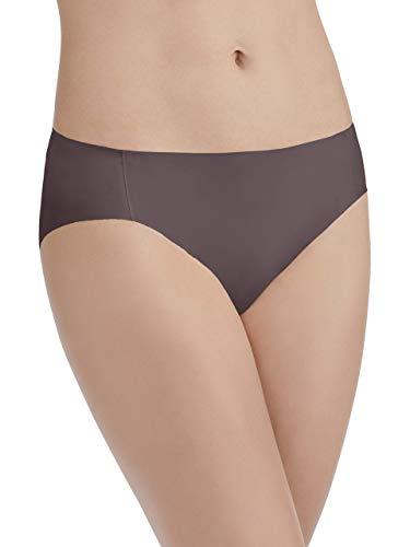 Vanity Fair Damen Nearly Invisible Panty 18242 Unterwäsche im Bikini-Stil, Deep Mauve, X-Large (34)