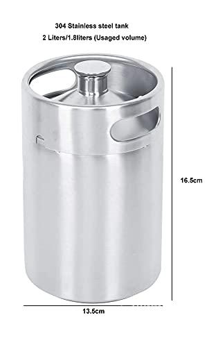 Ekspres do kawy Zimny zaparzenie Kawa Barylowa Mini Keg Dozownik Fermentor Zbiornik Ze Stali Nierdzewnej Zbiornik Fit Dla Browaru Domowego (Color : Tank)