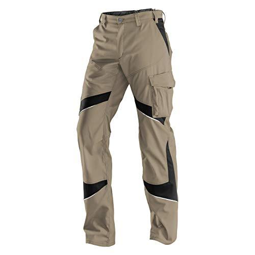 KÜBLER ACTIVIQ Arbeitshose beige, Größe 48, Herren-Arbeitshose aus Mischgewebe, leichte Arbeitshose von KÜBLER Workwear