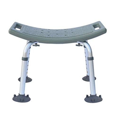 Z-SEAT Taburete de baño Taburete de Ducha Multiuso Antideslizante Silla de Ducha Ajustable en Altura Mesa de baño Banco Silla de baño MAX 150 kg