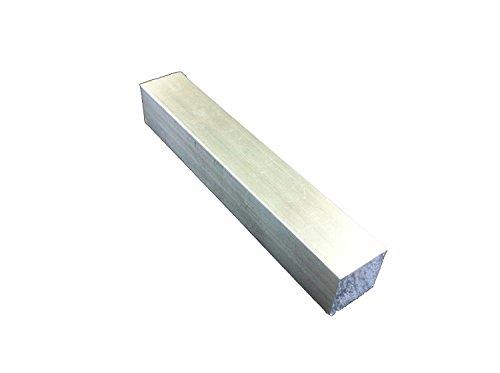 アルミ四角棒 20ミリ×20ミリ 長さ1センチ単位で自由カット (1~10センチ)