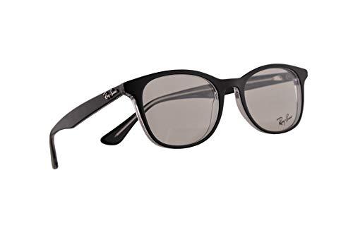 Ray-Ban RB 5356 Brillen 52-19-145 Schwarz Transparent Mit Demonstrationsgläsern 2034 RX RX5356 RB5356