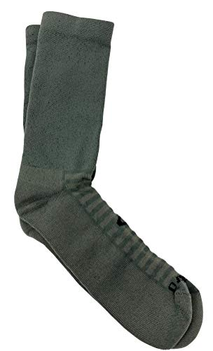 Oakley Drymax Boot Socks (Worn Olive, X-Large)