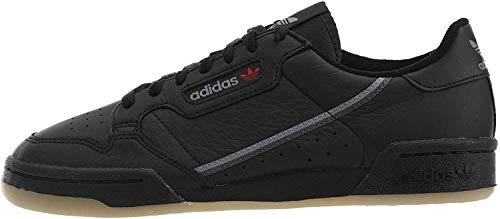 adidas Originals Continental 80, Zapatillas Deportivas. Mujer, Color Blanco Coral Negro, 39 1/3 EU