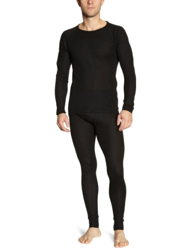 Maier Sports Hommes vêtements fonctionnels défini Adrian noir XXL