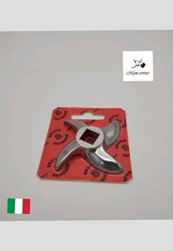 COLTELLO INOX MOD 22 per tritacarne Made in Italy