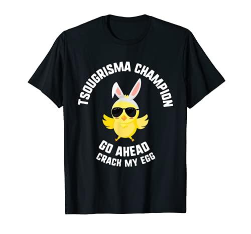 Gafas de sol de Pascua Tsougrisma Champion Go Ahead Chick Camiseta