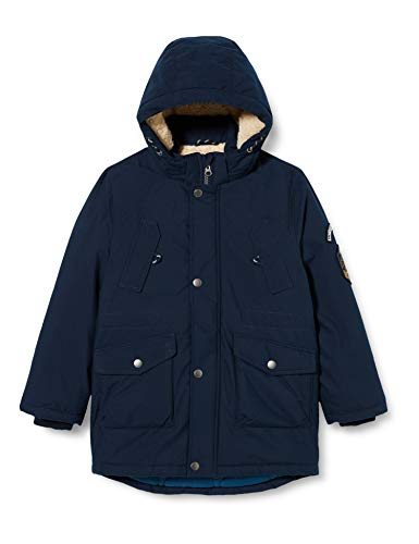 NAME IT Jungen NMMMACK Parka Jacket NOOS Jacke, Dark Sapphire, 116