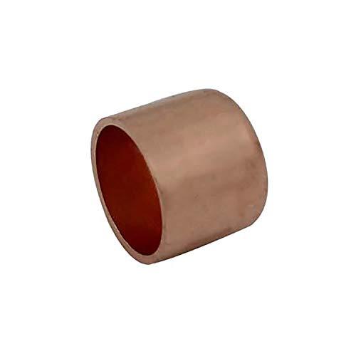 Tapón cobre soldar tapon tuberia cobre tapa tubo cobre hembra ID 10-108mm (Diámetro Interno 15mm -...