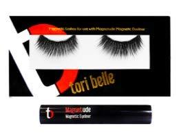TORI BELLE MAGNETIC EYELASH - Date Night - BLACK EYELASHES & EYELINER - COMPLETE SET