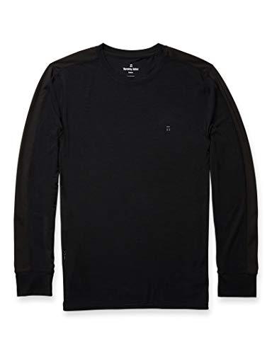 Tommy John Quick Dry Performance Long Sleeve Crew Neck T-Shirt Black