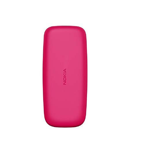 Nokia 105-2019 Téléphone Portable Double Sim Rose (TA-1174)