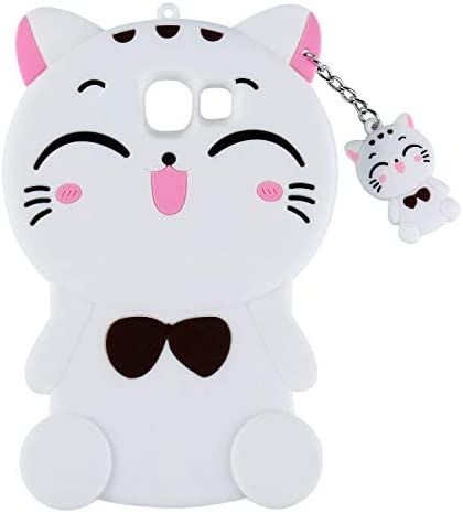 Joyleop Black Cat Case for Samsung Galaxy J5 Prime Cute 3D Cartoon Animal Cover Kids Girls Fun product image