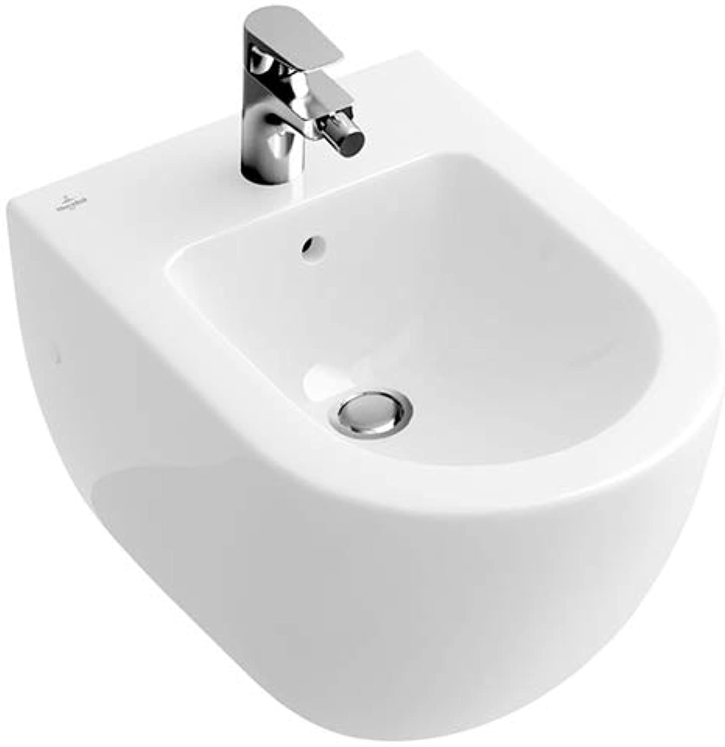 Villeroy & Boch SUBWAY Wand-Bidet 370 x 560 mm star Weiß activecare