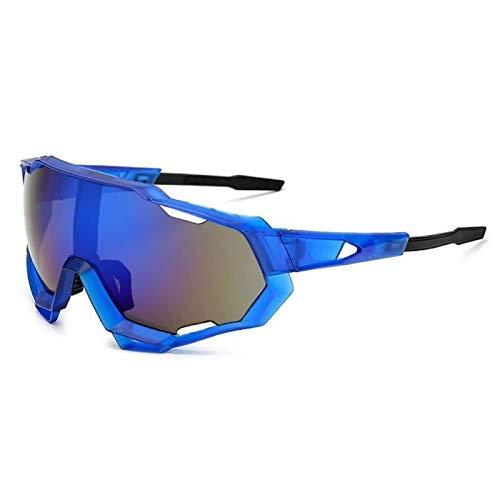 YFCTLM Los vidrios de Ciclo Hombres Bicicletas Gafas Lentes polarizadas Ciclismo Gafas de Sol Ultra Ligero Eyewear Eyewear UV Protección Bicicleta Gafas de Sol Mujeres (Color : 02)