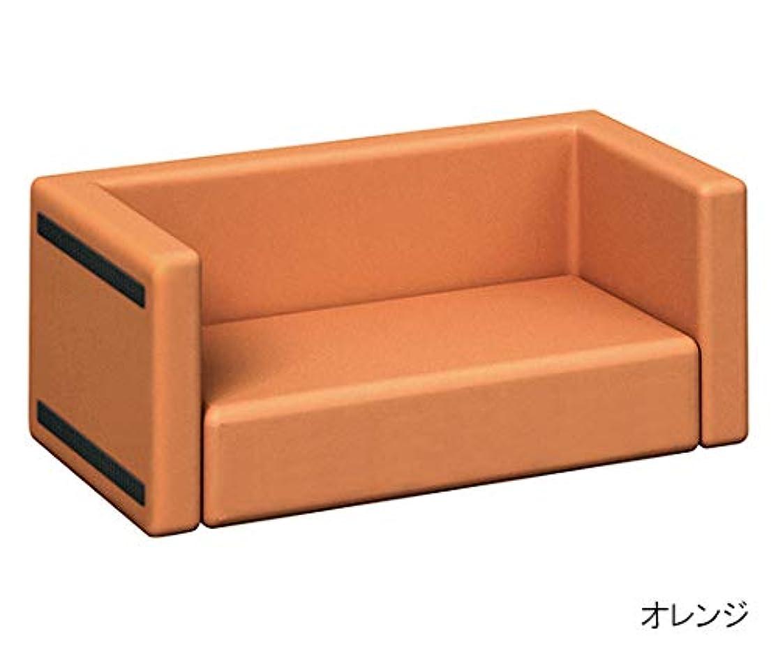 omoio(オモイオ) スクエアD450ソファベンチ 黄緑 KS-D450-SF-MP-18