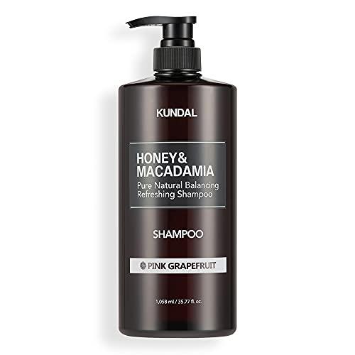 [KUNDAL公式]クンダル ネイチャー シャンプー1058ml ピンクグレープフルーツ Nature Shampoo 1058ml Pink grapefruit 全成分EWGグリーンレベル・pH弱酸性・自然由来界面活性剤