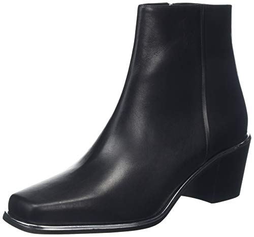 HUGO Acton Det.Bootie55-C, Damen Stiefeletten, Schwarz (Black 001), 40.5 EU (6.5 UK)