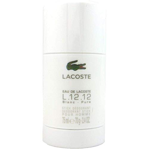 Lacoste L.12.12 Blanc Deodorant Stick, 75 g