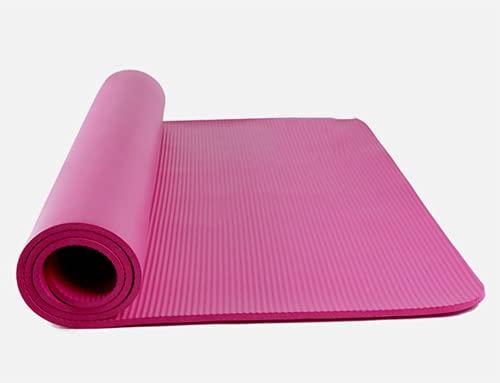 SUPERHUA Double Yoga Mat Home Ampia Aspesa Allungata Storm Sport Forma Fitness Dance Bambini Yoga Mat Bambini,Rosa