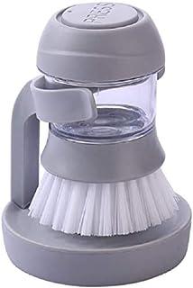 Cepillo limpiador de utensilios de cocina tipo prensa antiadherente aceite hidráulico automático lavado de platos cepillo descontaminación olla artefacto
