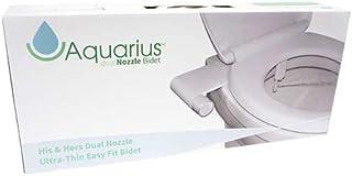 Acuario His & Hers Doble Boquilla Retro Easy Fit Bidé Bidé Se adapta a cualquier WC