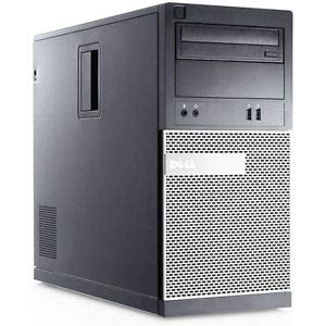 Windows 10 Dell 3010 Intel Core i5-3470 Tower PC Computer - 8GB DDR3-256GB SSD DVDRW - HDMI - (Renewed)