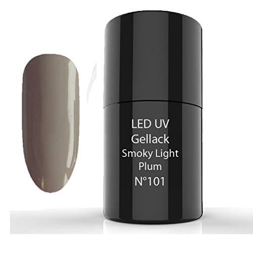 LED UV 7ml, Hybrid Polish, 101 Smoky Light Plum