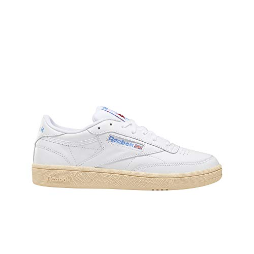 Zapatillas Club C 85 White/Athletic Blue/Mujer 38 Blanco