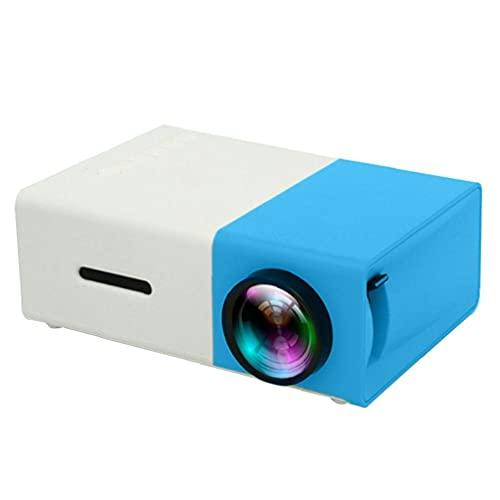 Hainice HD Mini Projector EU Plug Portable LED LCD Proyector de Video para niños Presente Video TV Película Party Game Outdoor