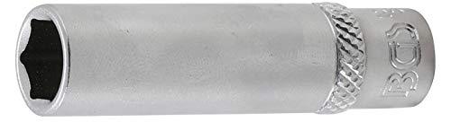 BGS 10509 | Steckschlüssel-Einsatz Sechskant, tief | 6,3 mm (1/4') | SW 9 mm
