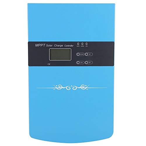 Boquite Solar Wechselrichter, DC Spannungswandler, 12V 24V 48V Mischtyp Solar Wechselrichter Controller Solar Laderegler(120A)