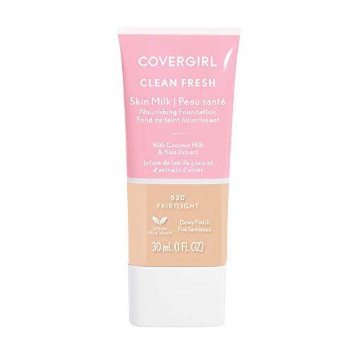 Covergirl, Clean Fresh Skin Milk Foundation, Fair/Light, 1 Count
