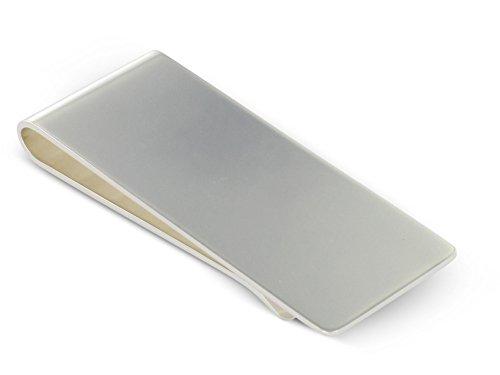 Grom Geldscheinklammer Silber Gravur geeignet