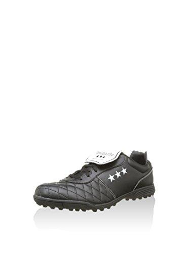 Pantofola D'oro EMIDIO Stella, Scarpe da Calcio Uomo, Nero/Bianco, 41.5 EU