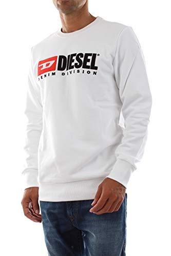 Diesel, Sudadera Blanca S-Gir-Division, DSL_00S2JC 0IAJH 100_100