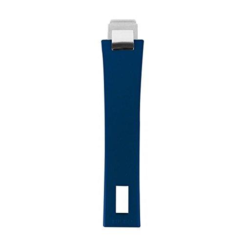 Cristel Henkel, abnehmbar, aus der Kollektion Mutine, Rostfreies Metall, Encre bleue, 0.000000