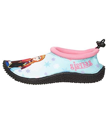 Disney Die Eiskönigin Mädchen Bade Schuh Hellblau 28/29