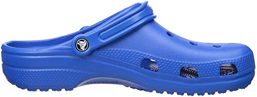 Crocs Classic Clog|Comfortable Slip On Casual Water Shoe, Bright Cobalt, 8 M US Women / 6 M US Men