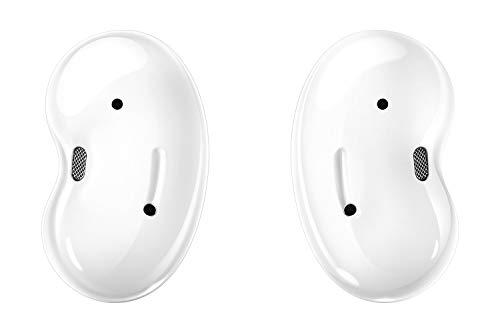 Samsung Galaxy Buds Live, kabellose Bluetooth-Kopfhörer mit Noise Cancelling (ANC), komfortable Passform, ausdauernder Akku, Wireless Kopfhörer in weiß