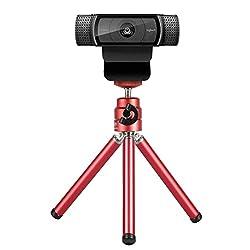 small Lightweight miniature webcam tripod for Logitech mobile webcams C920C922 Small camera tripod …