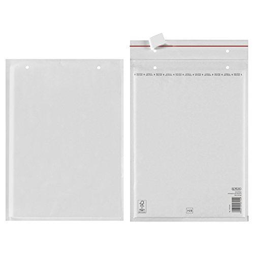 Herlitz 10917425 Luftpolstertasche H/8, 27 x 36 cm, FSC Mix Papier, PE Innenfolie, 2 Stück