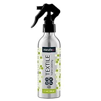Impermeabilizante Textil Spray Hendlex Tela Hidrofobico Recubrimiento 200ml | Nanotecnologia Impermeable Spray Para Calzado Zapatos Ropa Liquido Repelente de Agua Liquidos Manchas Protector